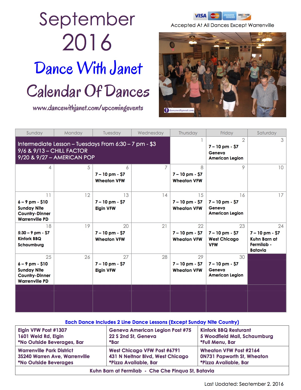 Couples5 dance instruction with a personal touch line dancing - Dances Flyer